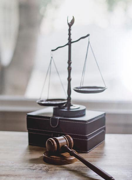 Balance and gavel