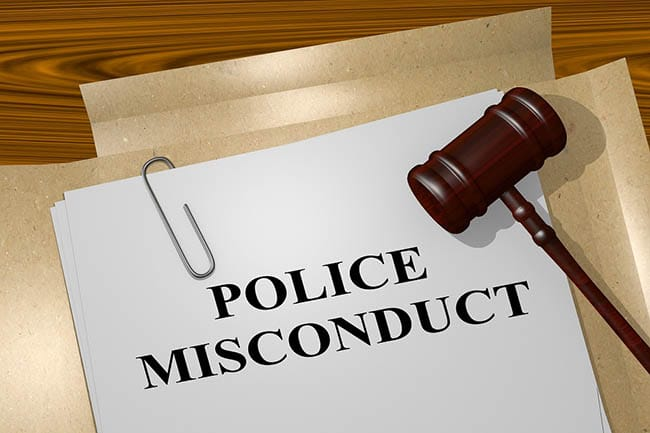 Police misconduct papers