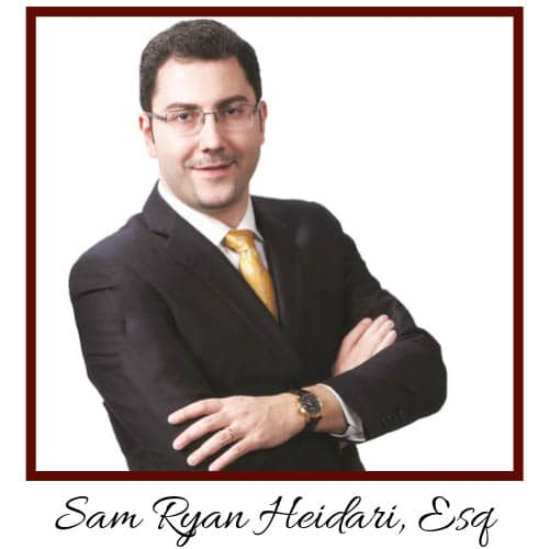Sam Ryan Heidari, ESQ