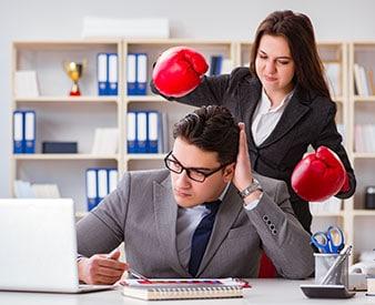 Employee being retaliated against