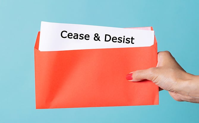 Cease-and-Desist Letters v. Cease-and-Desist Orders