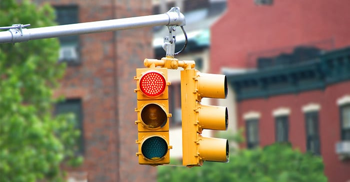 What Should I Do in the Event of a Red Light Car Accident?